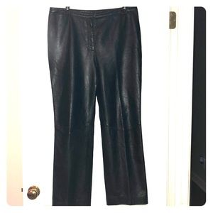 Express leather pants. Fully lined. Size 11/12.